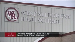 Arrest made in series of bomb threats at West Allegheny schools