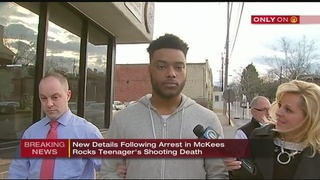 Arrest made in shooting death of teenager in McKees Rocks