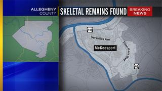Police: Skeletal remains found in McKeesport