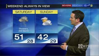 Much cooler weekend coming (2/23/17)