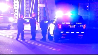 Search comes up empty for man who jumped off bridge into Allegheny River