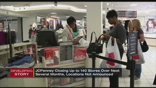 J.C. Penney announces as many as 140 store closures