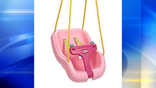 Recall issued for Little Tikes swings due to fall hazard