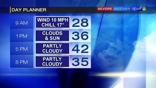 Day planner for Sunday (2/26/17)