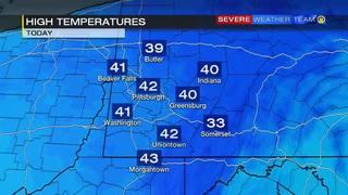 Temperature forecast for Sunday (2/26/17)