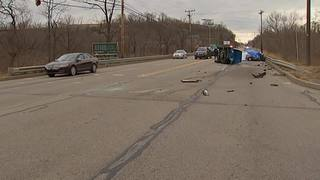 RAW: Fatal crash on Route 30 in North Versailles