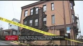 Residents still barred from Wilmerding apartment building after partial collapse