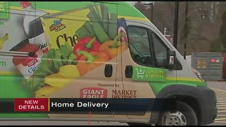 Giant Eagle launches 1st phase of home delivery service in Pittsburgh