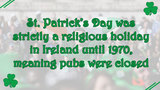 11 facts about St. Patrick's Day - (2/11)