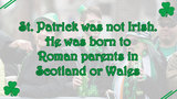 11 facts about St. Patrick's Day - (9/11)