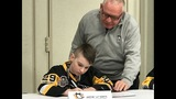 Photos: Penguins 'sign' 5 Make-A-Wish kids to… - (28/31)