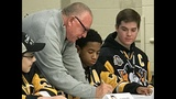 Photos: Penguins 'sign' 5 Make-A-Wish kids to… - (3/31)