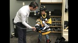 Photos: Penguins 'sign' 5 Make-A-Wish kids to… - (4/31)