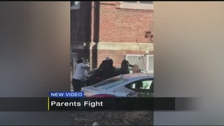 Adults face charges after fight outside of elementary school