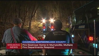 Fire at abandoned Export home under investigation
