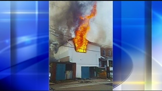 Home destroyed by fire in Jeannette