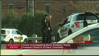 Man with bandana over face robs Freeport Road bank