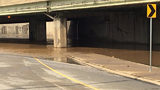 Pittsburgh street flooded with 2 feet of water