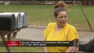 Woman charged in connection with 4-year-old boy