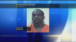 Police: Driver says after smoking crack he intentionally struck vehicles