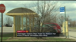 Teen waiting at bus stop fights off would-be abductor