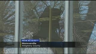 Turkey crashes through window at Monroeville Public Library