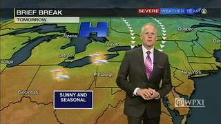 Sunny and seasonal Wednesday before more wet weather