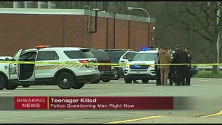 Teenager shot and killed at Penn Hills middle school, police questioning suspect