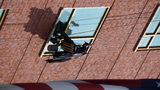 Photos: Superheroes wash windows at… - (15/21)