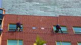 Photos: Superheroes wash windows at… - (12/21)