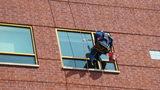 Photos: Superheroes wash windows at… - (2/21)