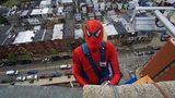 Photos: Superheroes wash windows at… - (1/21)