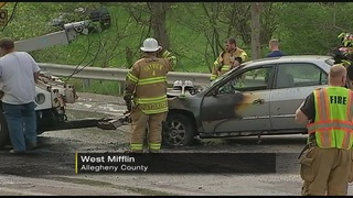 3-vehicle crash in West Mifflin