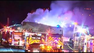 RAW: Fiery crash on Pennsylvania Turnpike