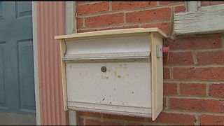 Woman catches thief stealing from her mailbox