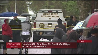 14-year-old shot to death in McKeesport