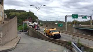 RAW: Timelapse of crews working to reopen Route 28