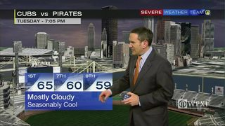 Pirates forecast for tonight (4/25/17)