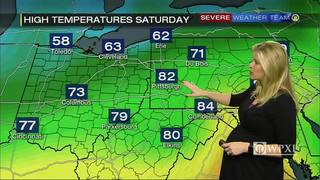 Warmer weekend ahead for Pittsburgh area (4/25/17)