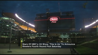 """This Is Us"" stars to announce Steelers"