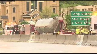 RAW: Route 28 accident, fuel spill