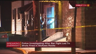 Police search for victim after reports of shots fired outside McKees Rocks bar