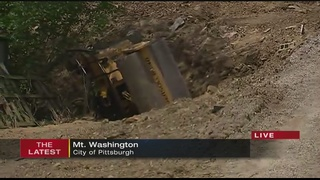 Man pinned after steamroller accident on Mt. Washington
