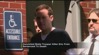 VIDEO: Eric Frein sentenced to death for ambush that killed state trooper
