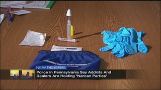 """Narcan parties"" are becoming new trend"