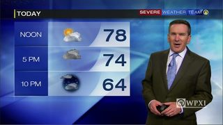 Thursday planner and 5-day forecast (4/27/17)