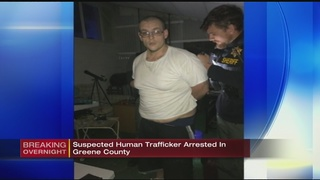 Suspected human trafficker arrested in Greene County
