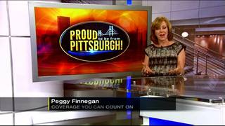 WEB EXTRA: Peggy Finnegan receives gift from the class she profiled