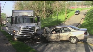 Woman, 4-year-old child severely injured in wrong-way crash