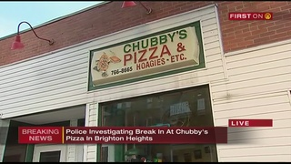 Woman working at Pittsburgh pizza shop surprised by thief